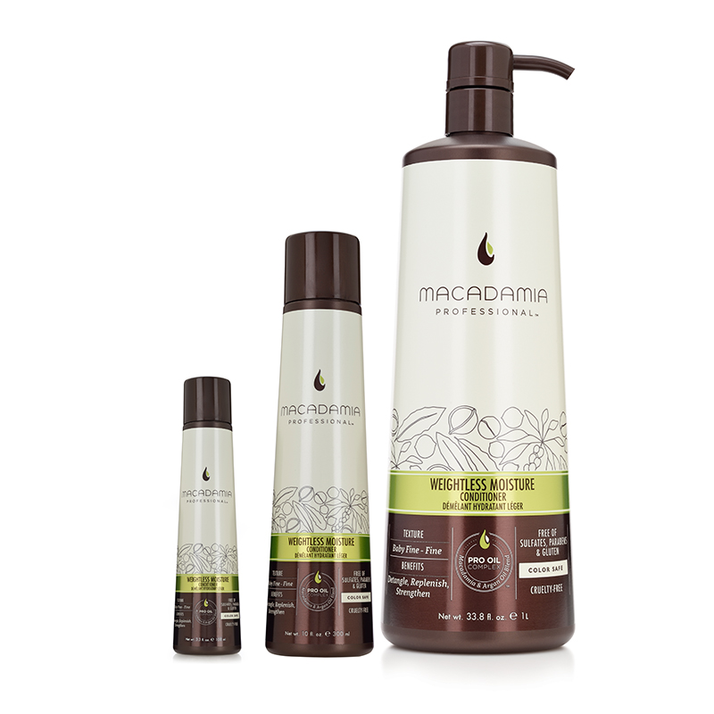 Macadamia Professional Weightless-Moisture- kondicionieris